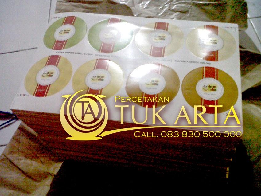 cetak stiker label