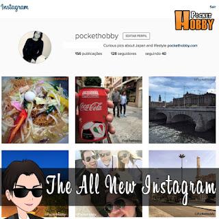 Pocket Hobby - www.pockethobby.com - Hobby News - The All New Instagram -