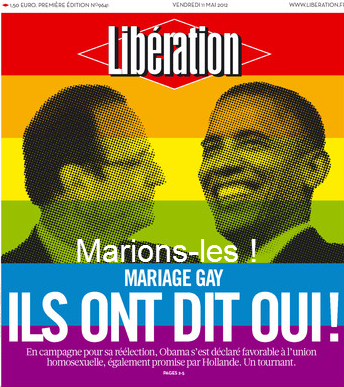 Marrage homosexuel pour