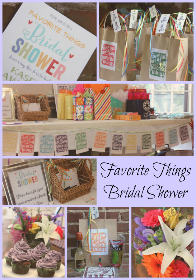 Running From The Law Favorite Things Bridal Shower