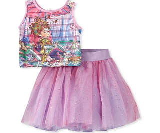 Top w/Tulle Skirt/More Children's Deals