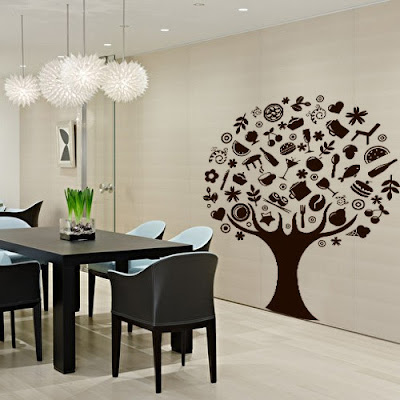 Muebles y Decoración de Interiores: Stickers para Decorar ...