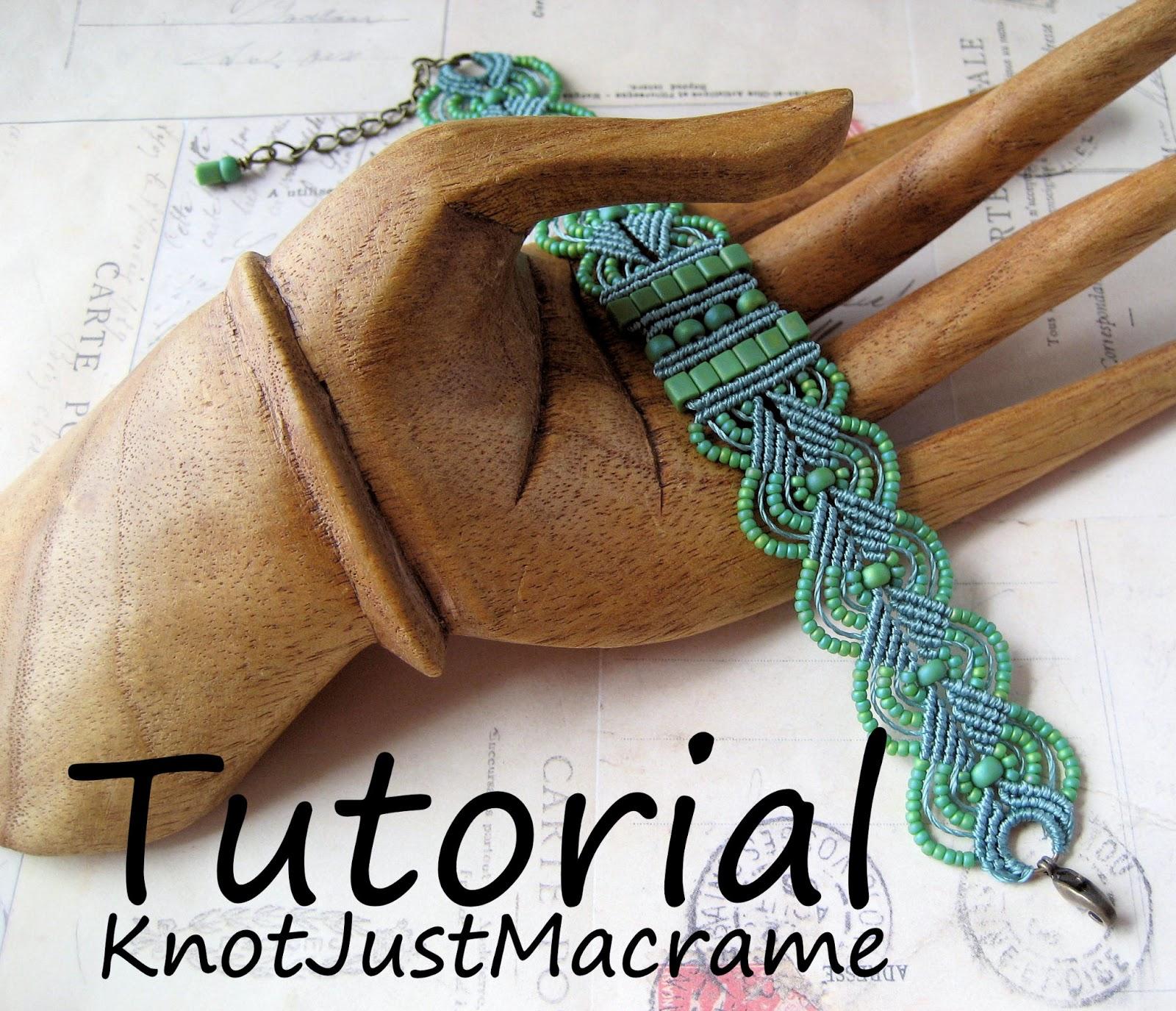 Knot Just Macrame by Sherri Stokey: Micro Macrame Bracelet Tutorials