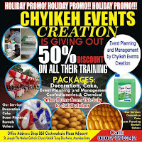 Chyikeh Events, offering skills to be rich