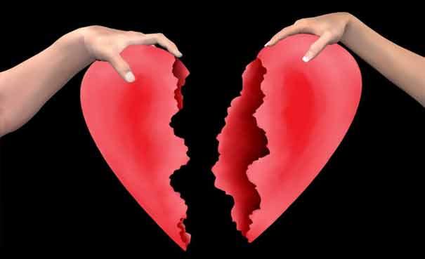 Putus cinta menyakitkan