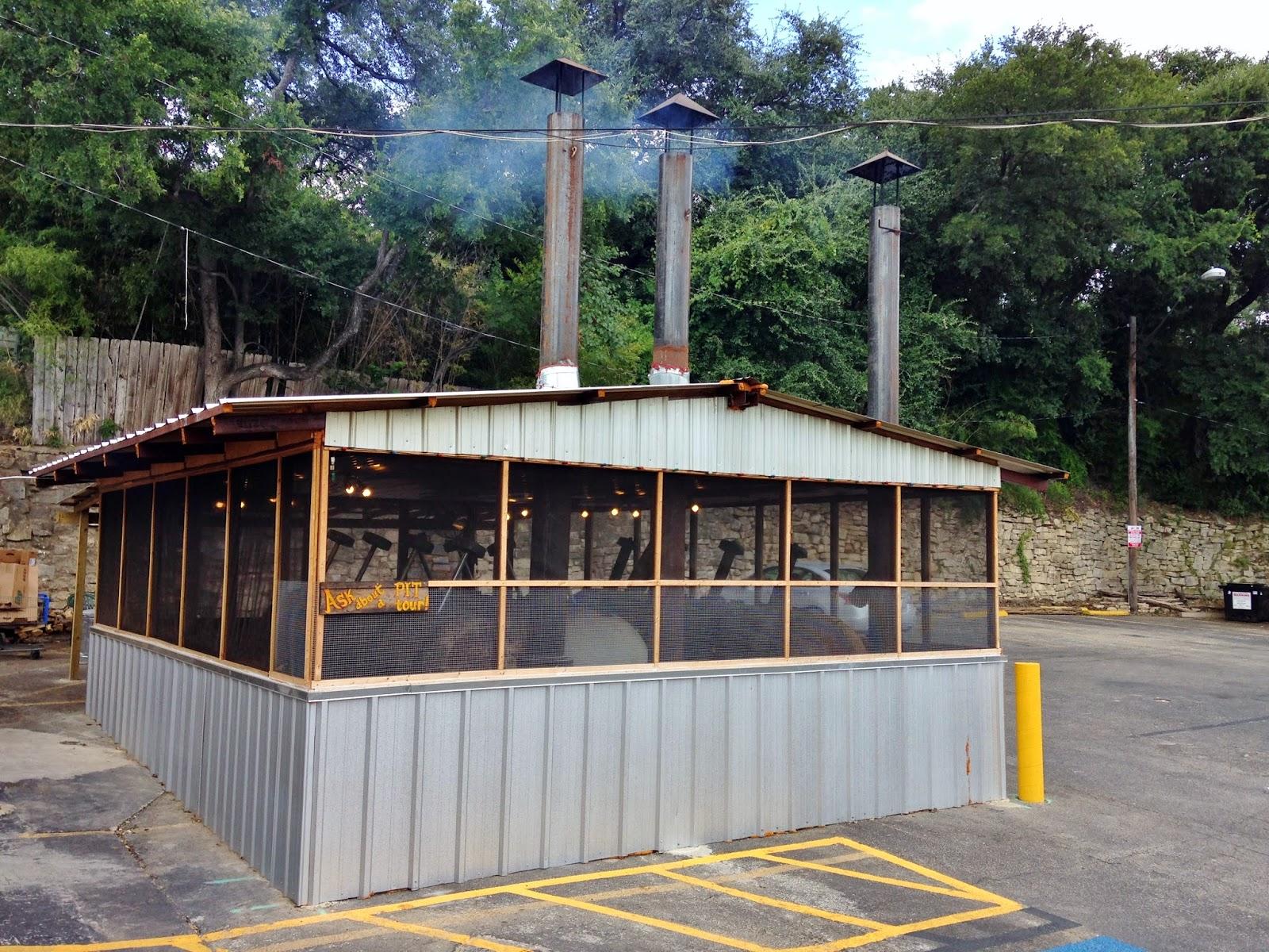 Terry Black's detached smokehouse