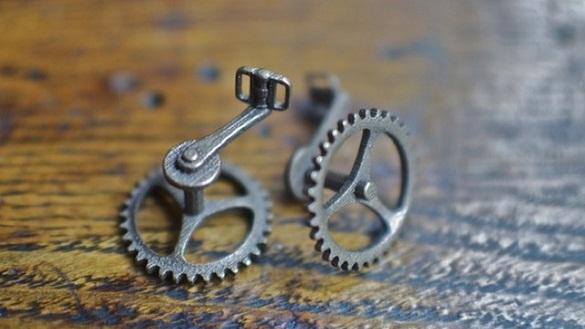Gemelos de engranajes de bicicleta