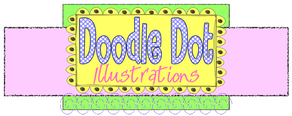 Doodle Dot Illustrations