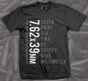 7.62x39mm firearm shirt