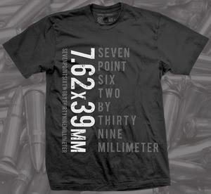 7.62 firearm shirt