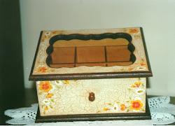Caja de té floral.
