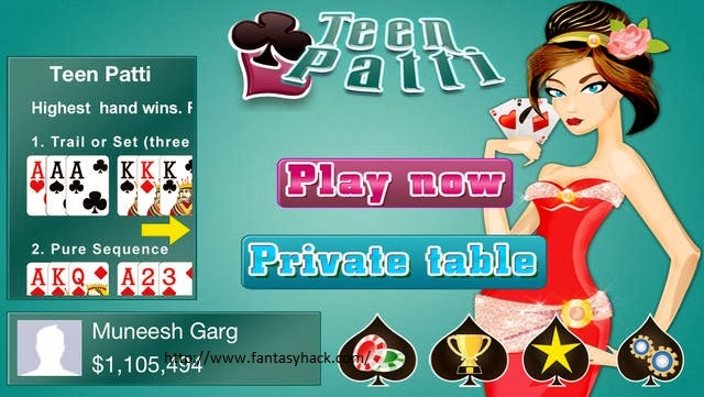 Teen Patti Indian Poker Hack Features: