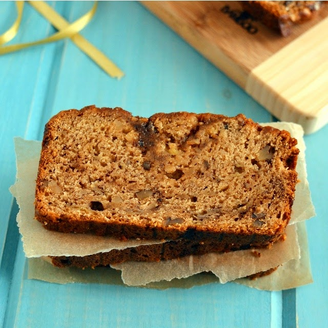 Whole Wheat Banana & Walnut Bread