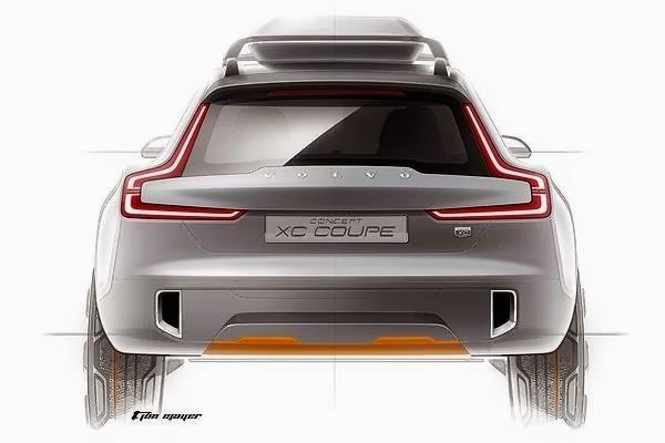 Volvo's new Concept XC Coupe