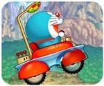 Doremon đua xe vượt thời gian, chơi game doremon hay