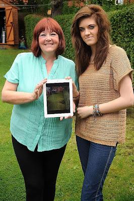 Tertangkap foto hantu guna iPad