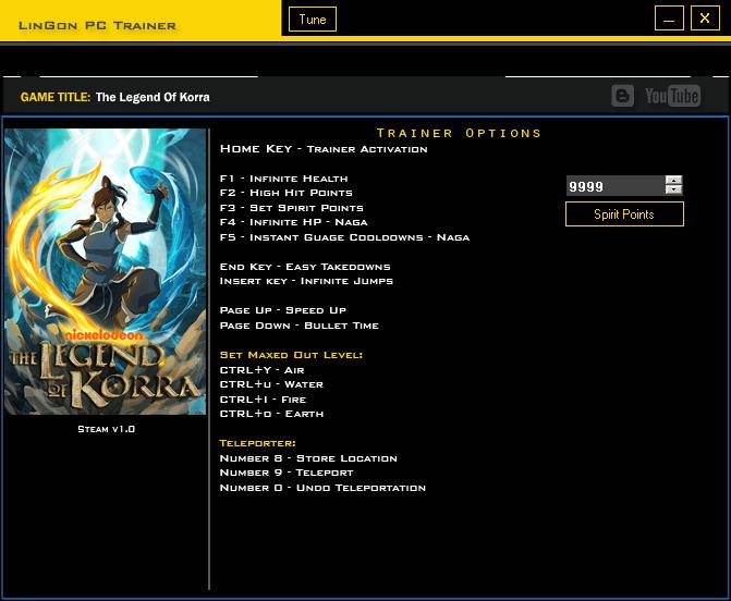 The Legend Of Korra trainergames