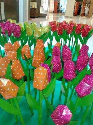origami-tulips