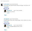 Kelebihan Threaded Comments Blogger