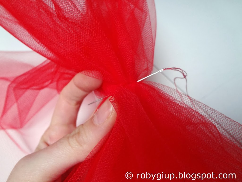 Super RobyGiup handmade: Fiocchi di tulle - Tulle bows UY15