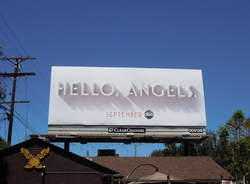 Charlie's Angel teaser billboard