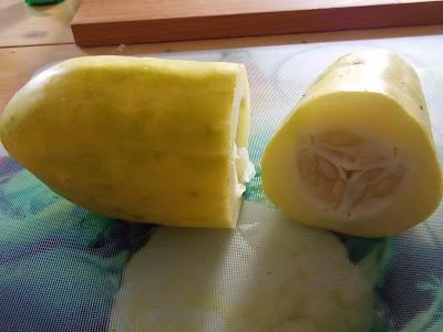 Concombre coupé