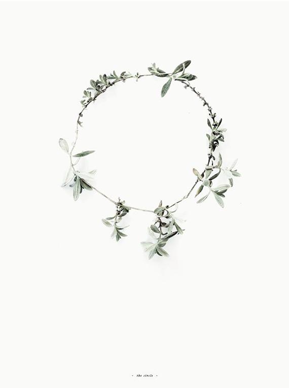 Minimalist wreath ideas | By Fryd