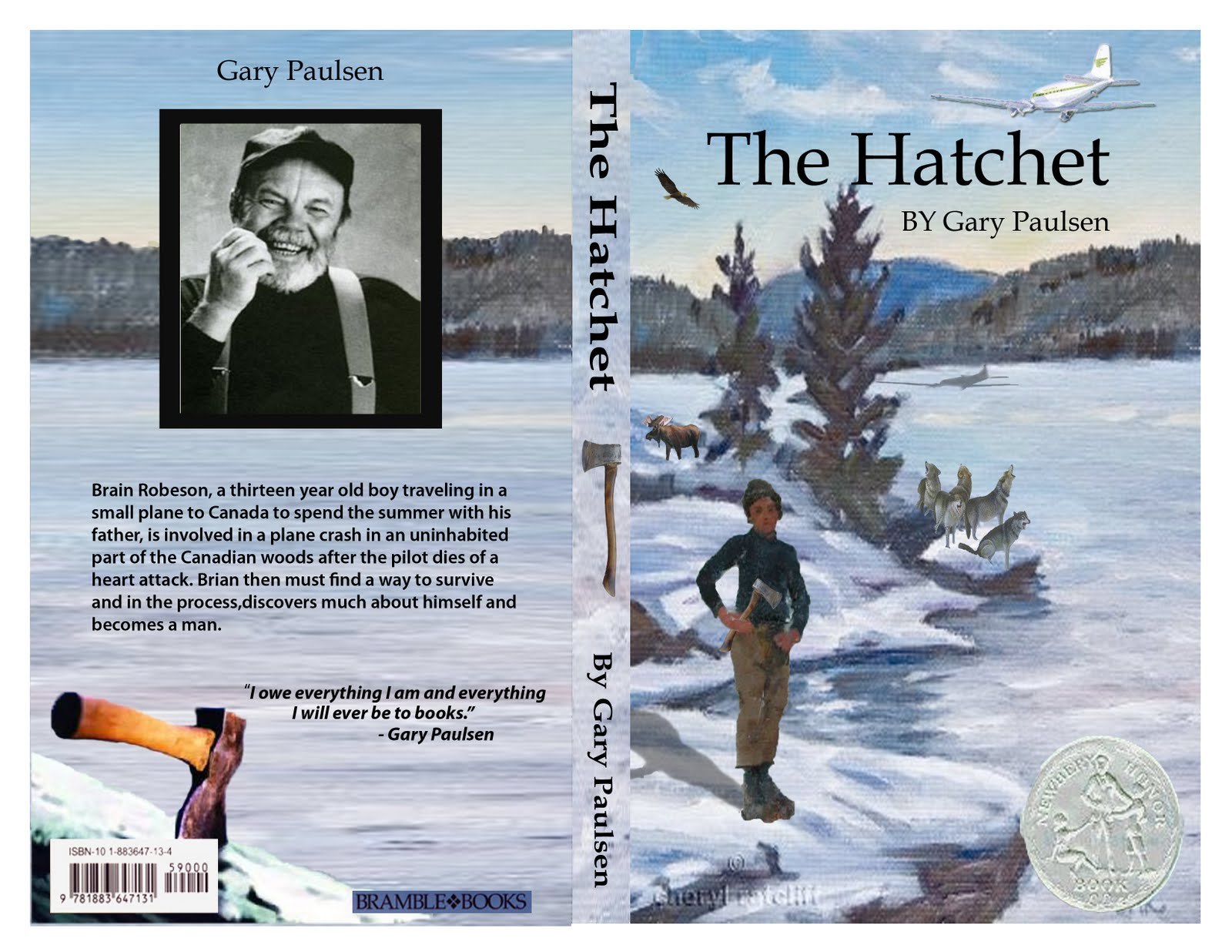 gary paulsen essay Essays - largest database of quality sample essays and research papers on hatchet by gary paulson.