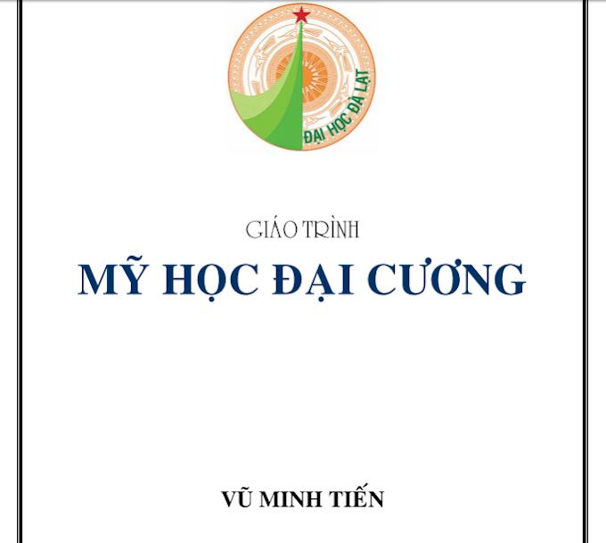 Giáo trình Mỹ học đại cương - Vũ Minh Tiến