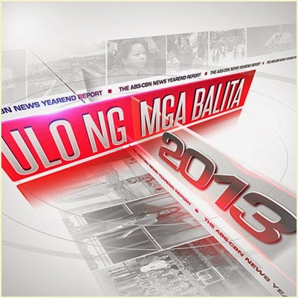 "ABS-CBN 2013 Year-end Report ""Ulo ng Mga Balita"" Airs December 29 on Sunday's Best"