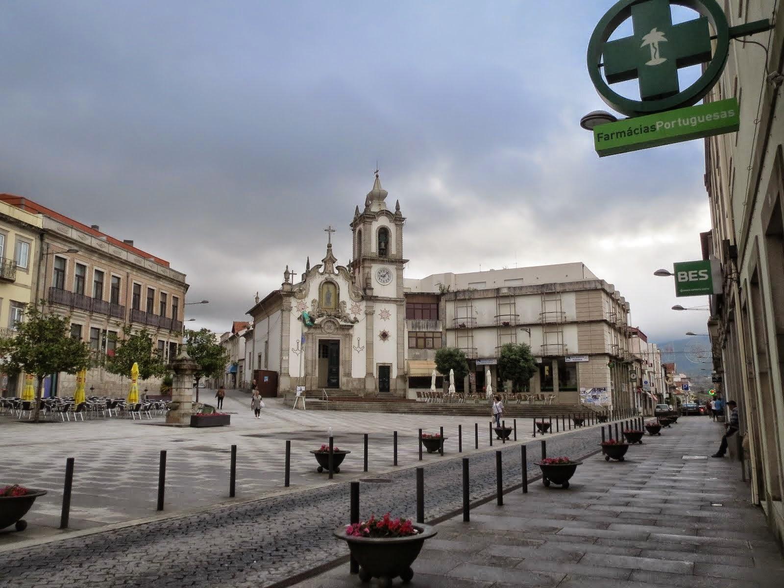 Plaza Mayor Vila Praya de Ancora
