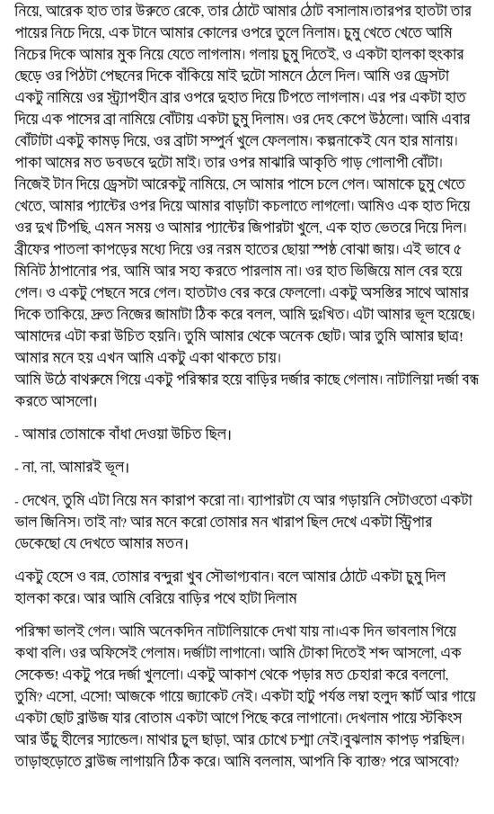 Kolkatar choti golpo Article by a university student