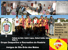 JOGO DE FUTEBOL NO ROSÁRIO - 08/03/14