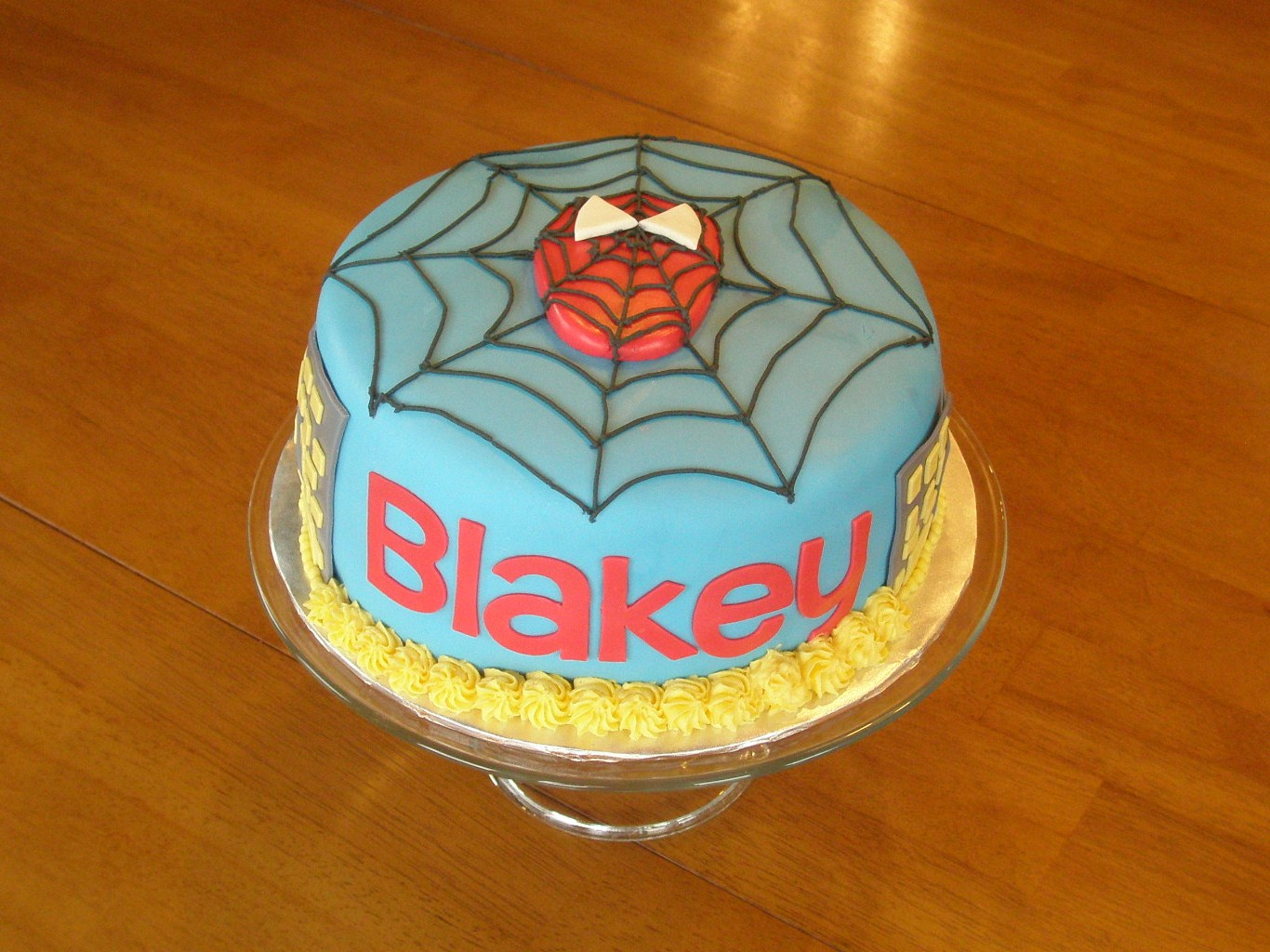 Angies Cakes Spiderman Cake