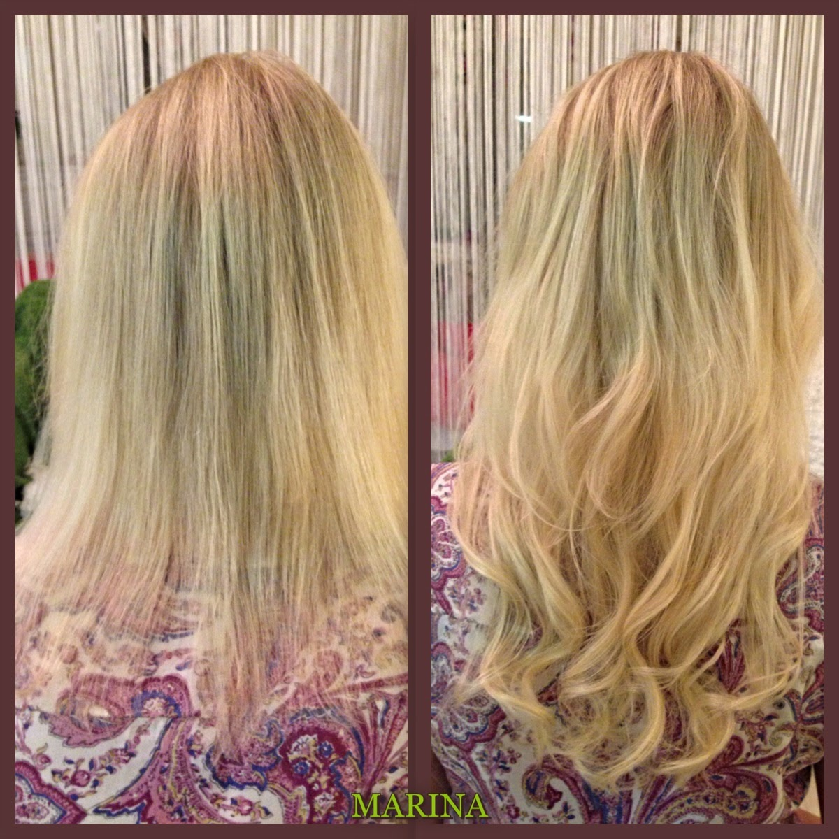 Keratin Bonded Hair Extensions Micro Rings Hair Extensions