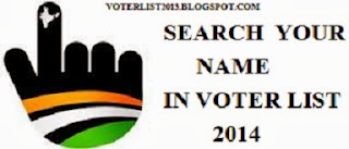 Search Your Name In Voter List 2014 Add Your Name In Voter