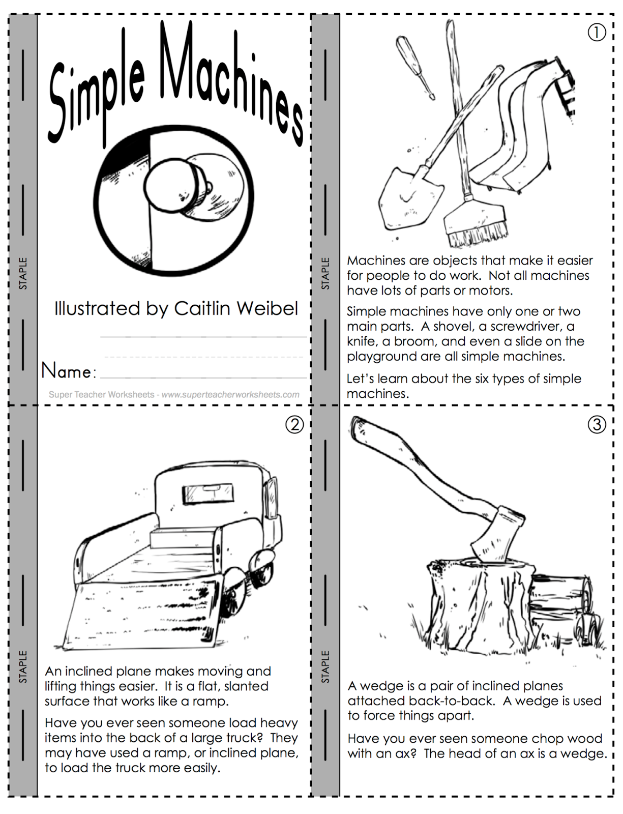 Collection of Work And Simple Machines Worksheet Sharebrowse – Simple Machines Worksheet