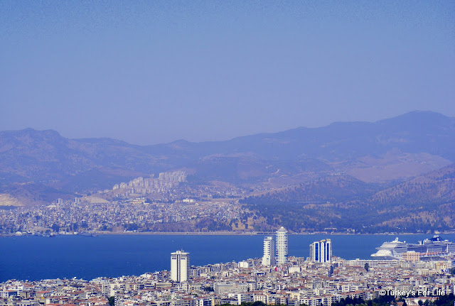 Izmir Harbour View From Kadifekale