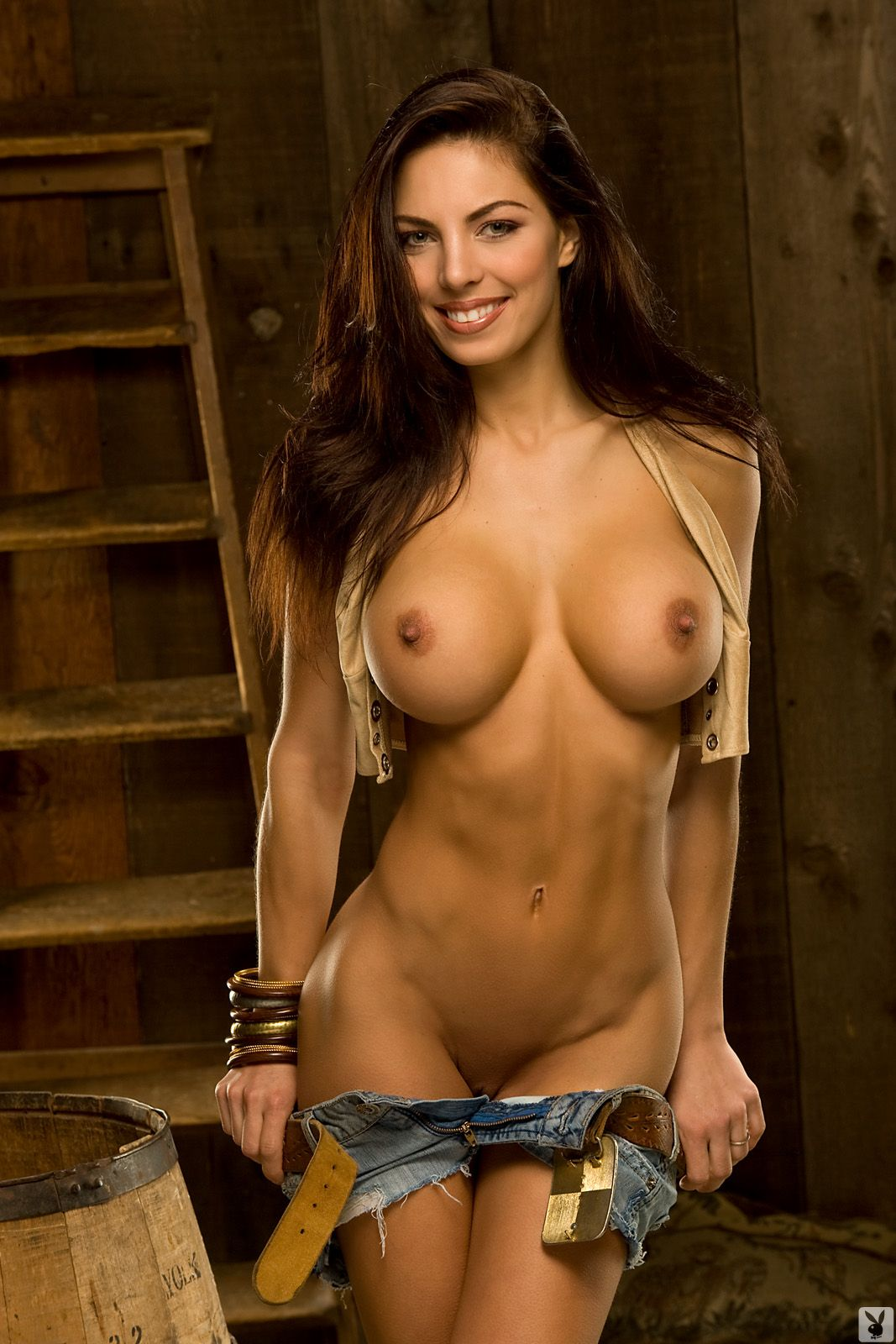 hot nude brunette amy