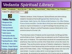 vedanta spiritual library