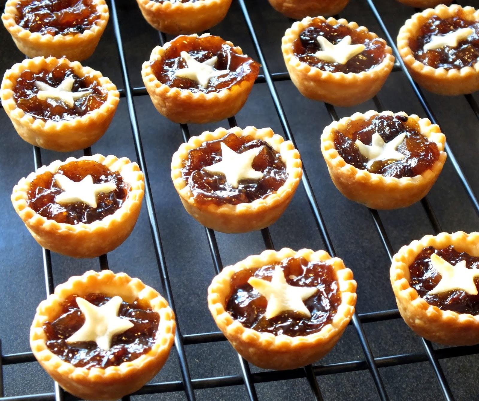 Mini Mince Tarts with Cheddar Crusts