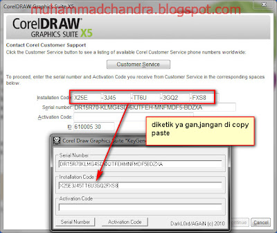 corel draw x5 serial number activation code