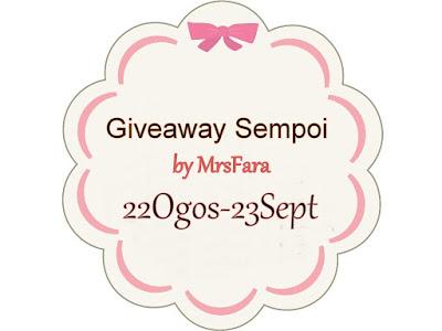 Giveaway Sempoi by Mrsfara