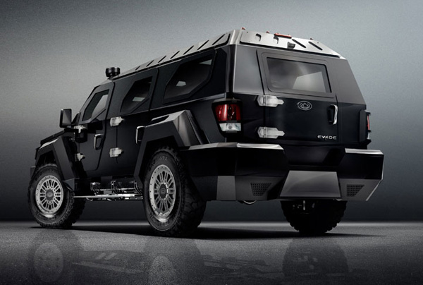 Armored Limousine  rear