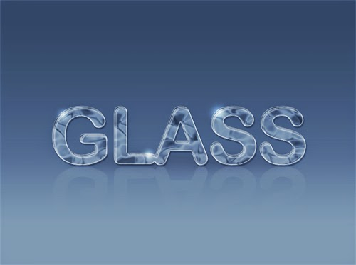 Video Tutorial : Create Glass Text Effect In Photoshop