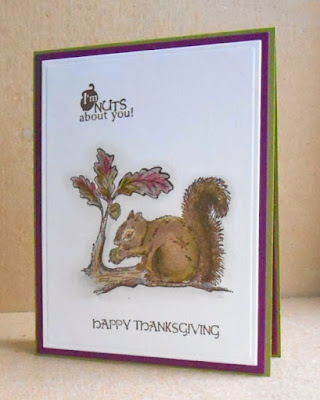 Our Daily Bread designs Thankful Song, ODBD Customer Card of the Day by Brenda aka tessaduck