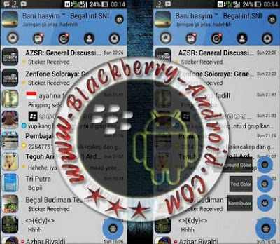 BBM MOD Themes Pure Calm New Versi 2.8.0.21 Apk