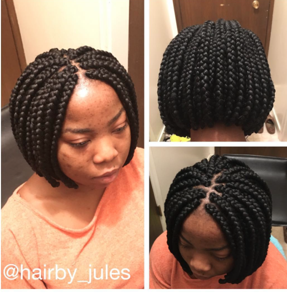 Bob Braids Hairstyle - Welcome To Jules Blog: Bob Braids Hairstyle