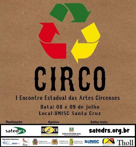 Encontro Estadual das Artes Circenses