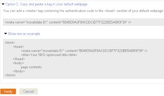 Cara Submit Sitemap di Bing Webmaster Tool